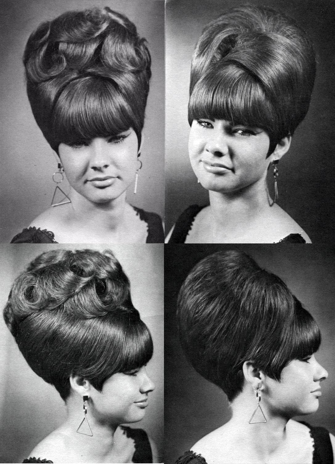 Coiffure 1960 Now This Is A Beehive My Mom Going To Haussner 39s