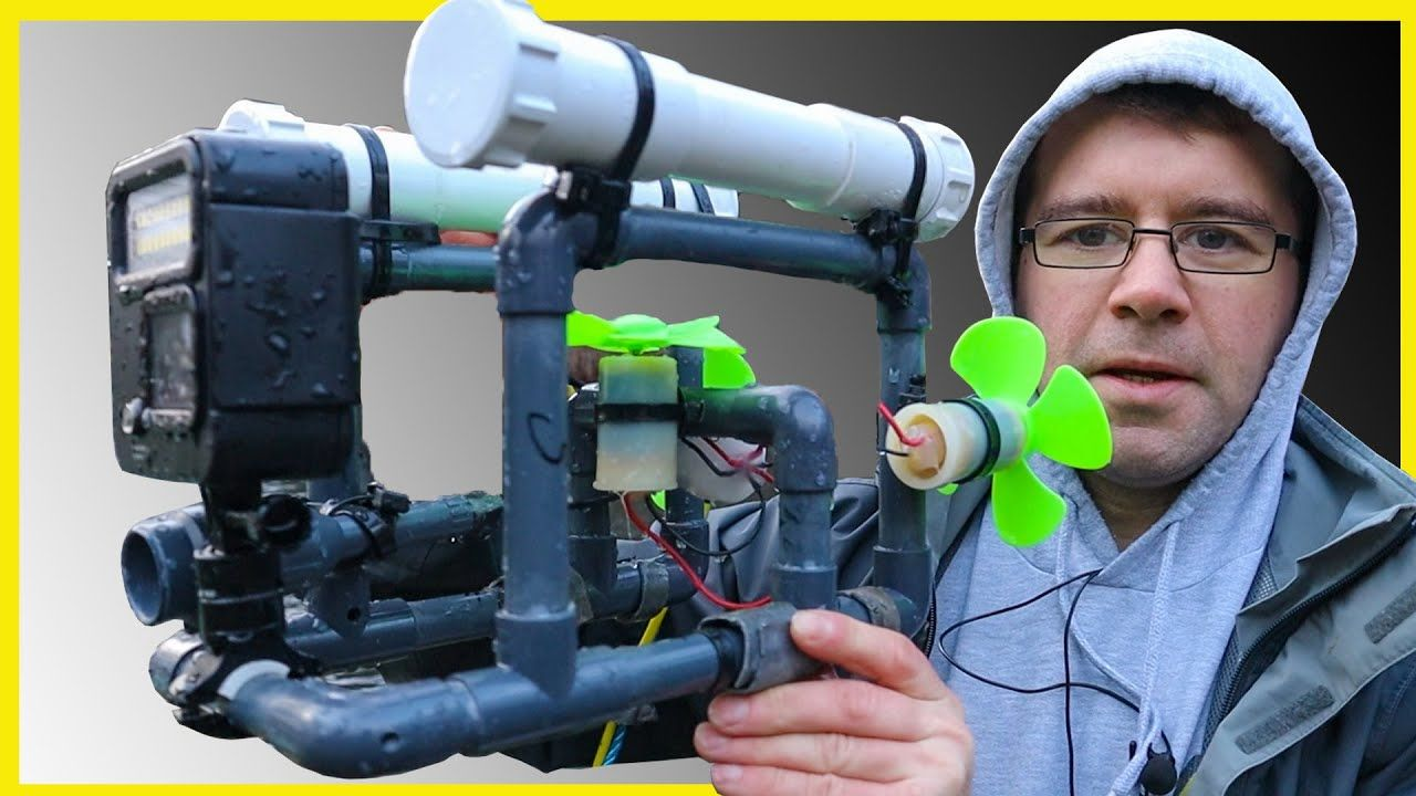 Build your own underwater drone en 2020 vehiculos