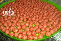 Photo of Chicken Meatballs with Chickpeas (for Ice Cube Tray) – Nefis Yemek Ta …