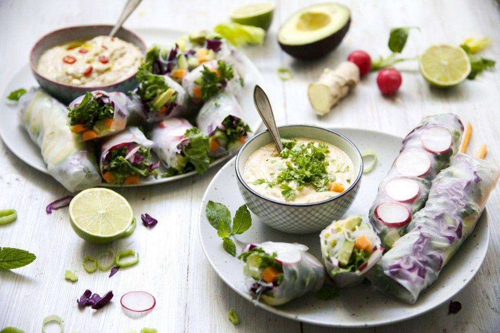 Kevätrullat ovat ihanaa, värikästä ruokaa, jotka saavat täyttävyyttä ja…