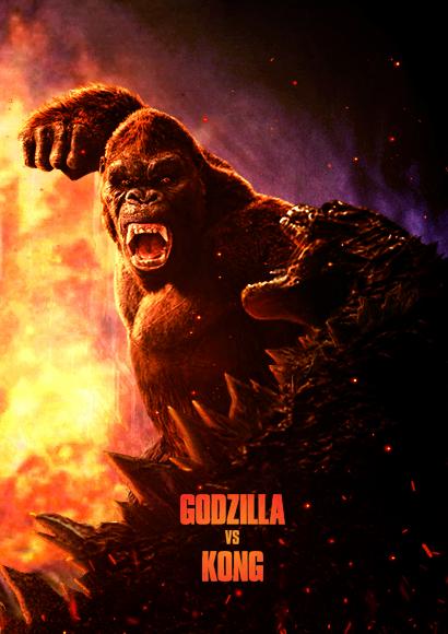 Godzilla Vs. Kong (2020) Poster 4 by CAMW1N Godzilla