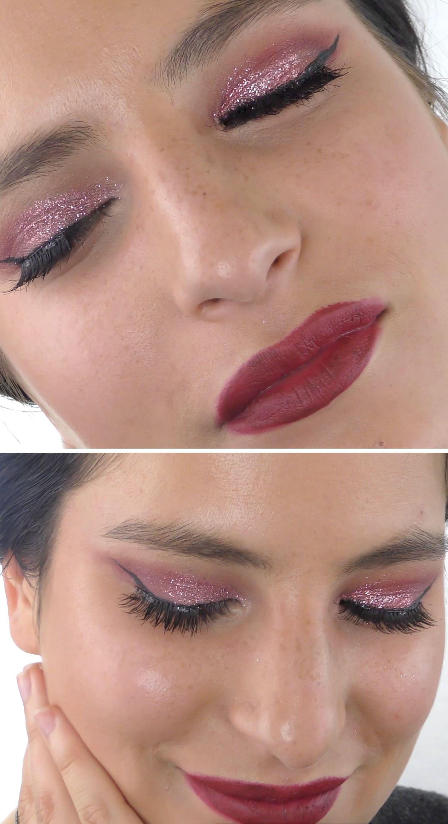 Cranberry Glitter Galaxy Makeup Galaxy makeup, Makeup