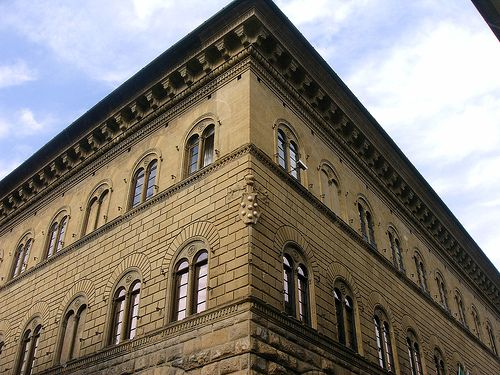 Florence - Palazzo Medici - architect Michelozzo - 1445
