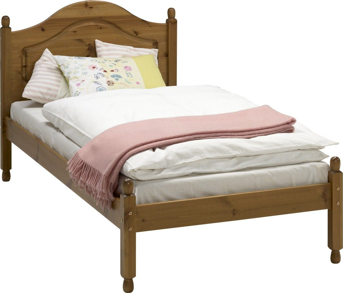 Steens Richmond Pine Carlton Bed 3 0 Ft Steens By Collection Pine Bed Frame Bed Pine Beds