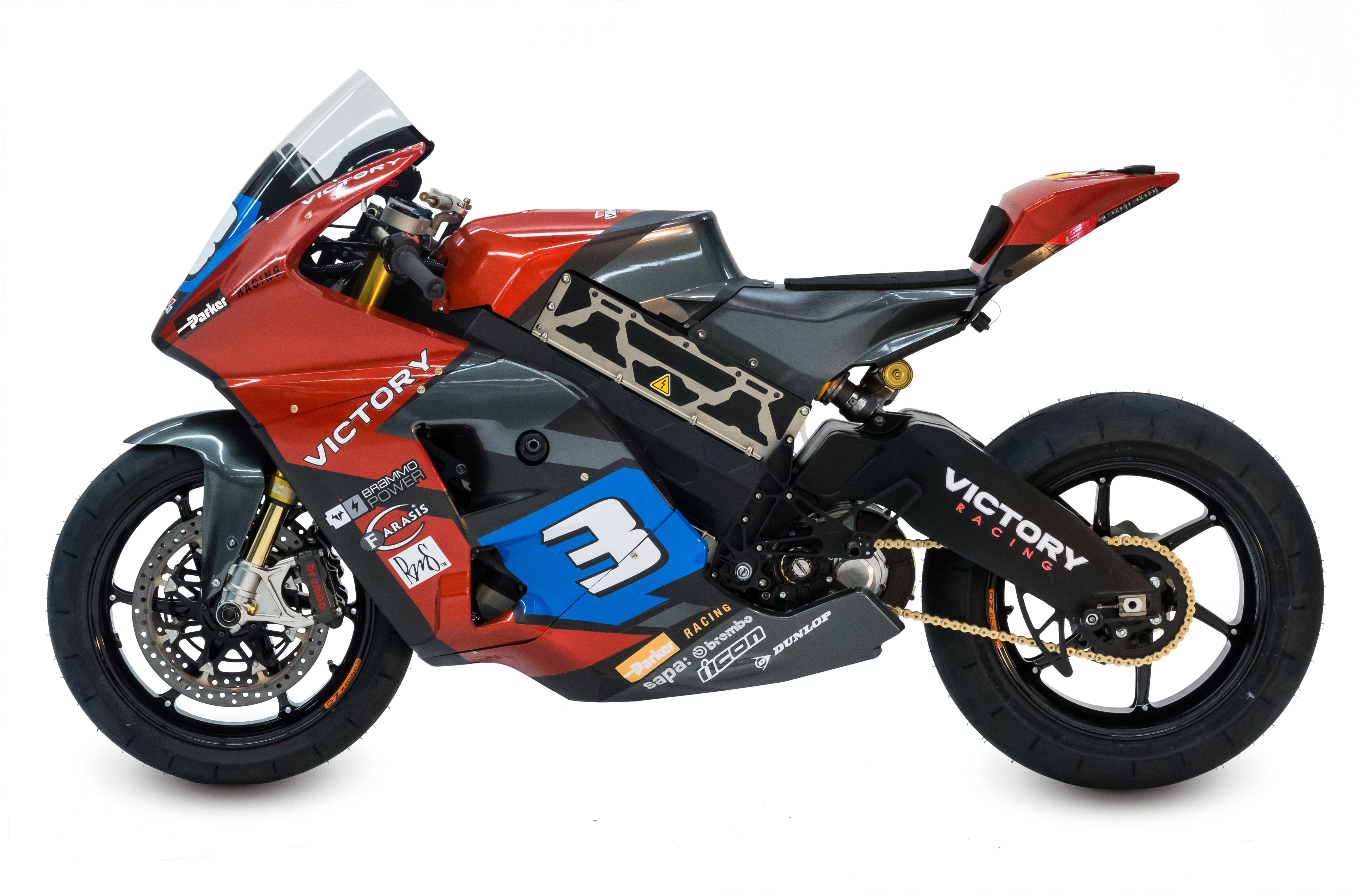 Victory S Electric Motorcycle For The 2015 Isle Of Man Tt