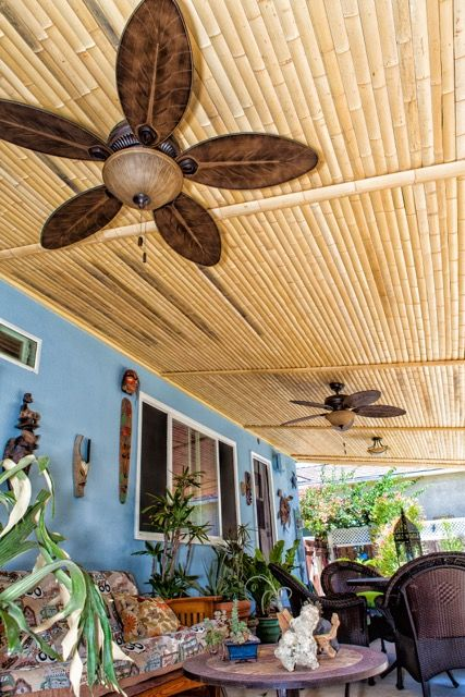 wainscoting wall slats for bamboo ceiling island decor outdoor fans covered patios restaurant dimming fan