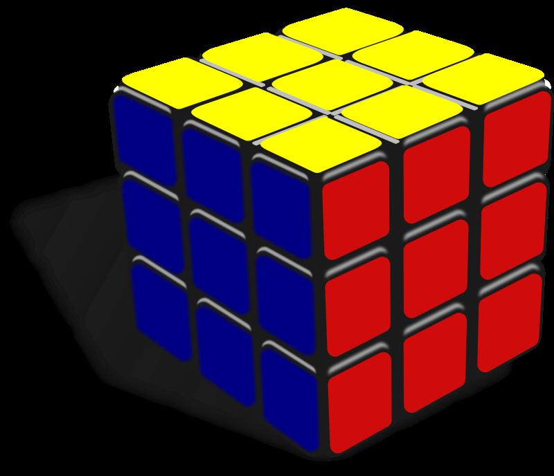 Free Clipart Cube Keistutis Clip Art Rubiks Cube Toy Clip