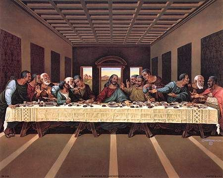 AFRICAN AMERICAN ART PRINT LAST SUPPER 16X20 POSTER PRINT IMAGE PHOTO -G10