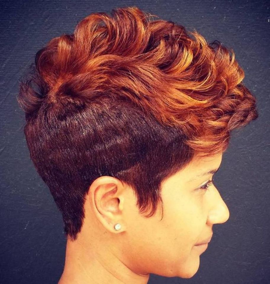 great short hairstyles for black women in female haircuts
