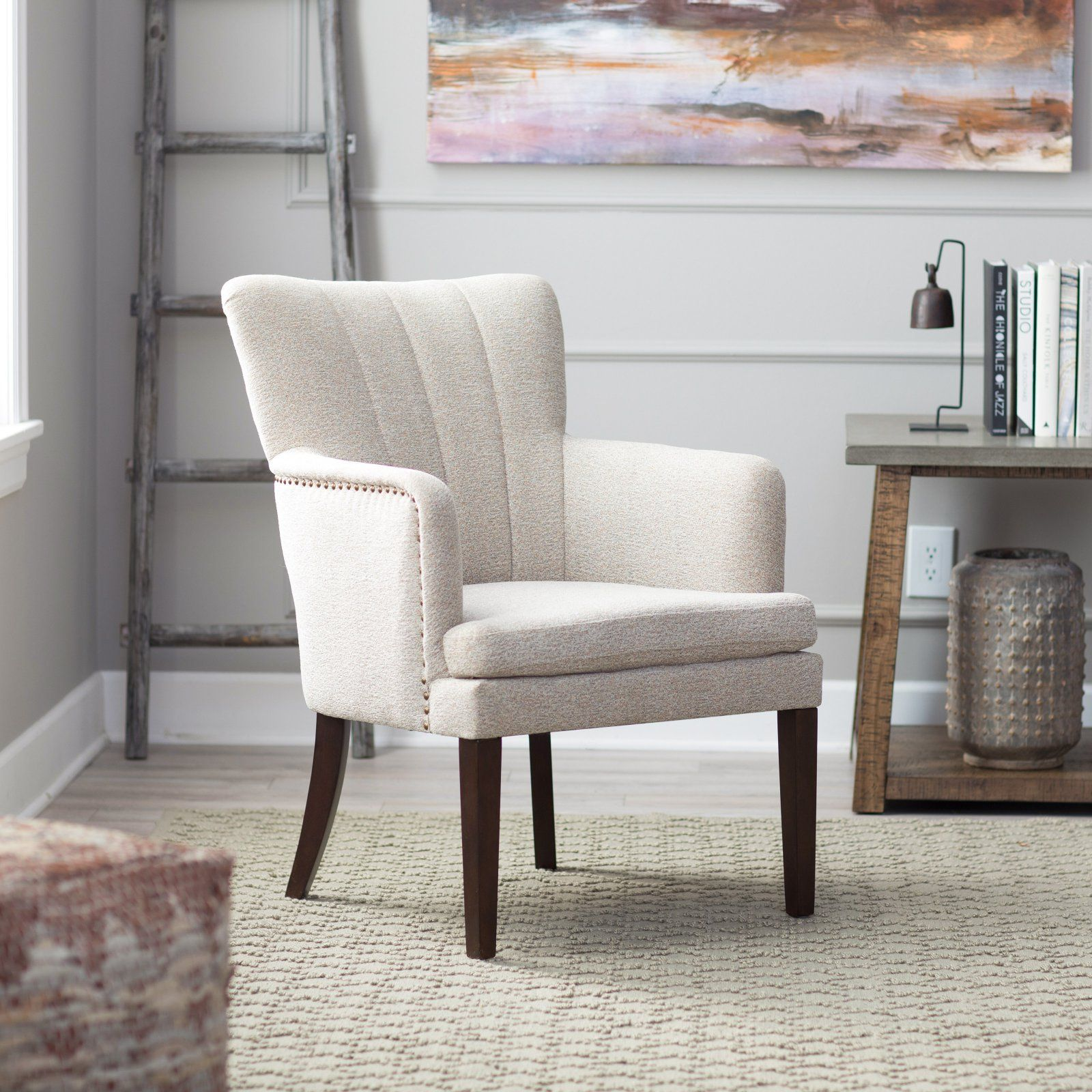 Terrific Belham Living Kelly Accent Chair Tan In 2019 Products Caraccident5 Cool Chair Designs And Ideas Caraccident5Info
