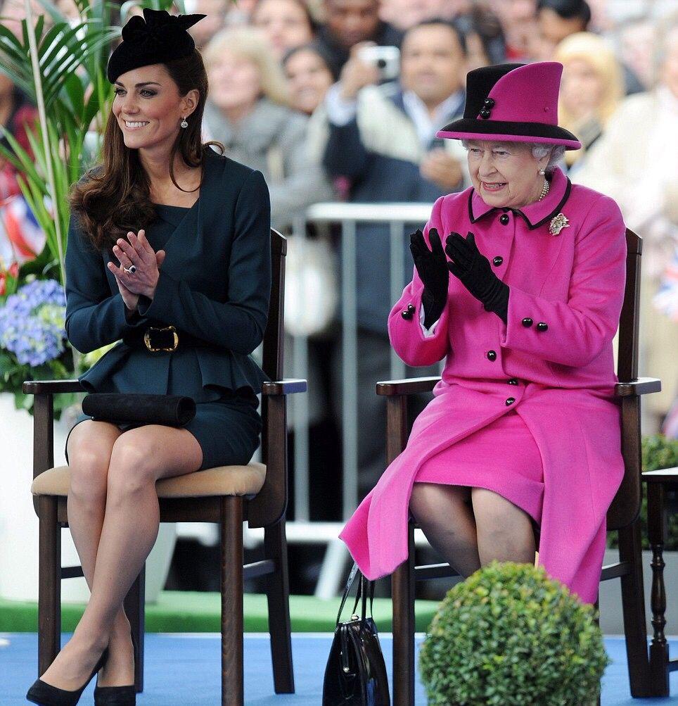 The Queen & The Duchess of Cambridge <3