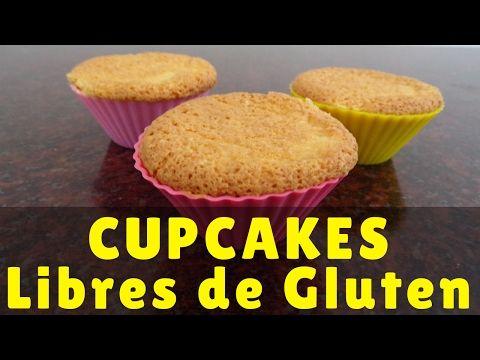 Receta Cupcakes X2f Magdalenas Libres De Gluten Para Celíacos Soy Celíaco Comida Para Diabeticos Recetas Magdalenas Sin Gluten Sin Gluten