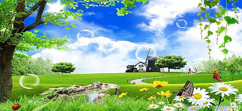 صور عن الطبيعة منتدى اسلامي مفيد Golf Courses Field