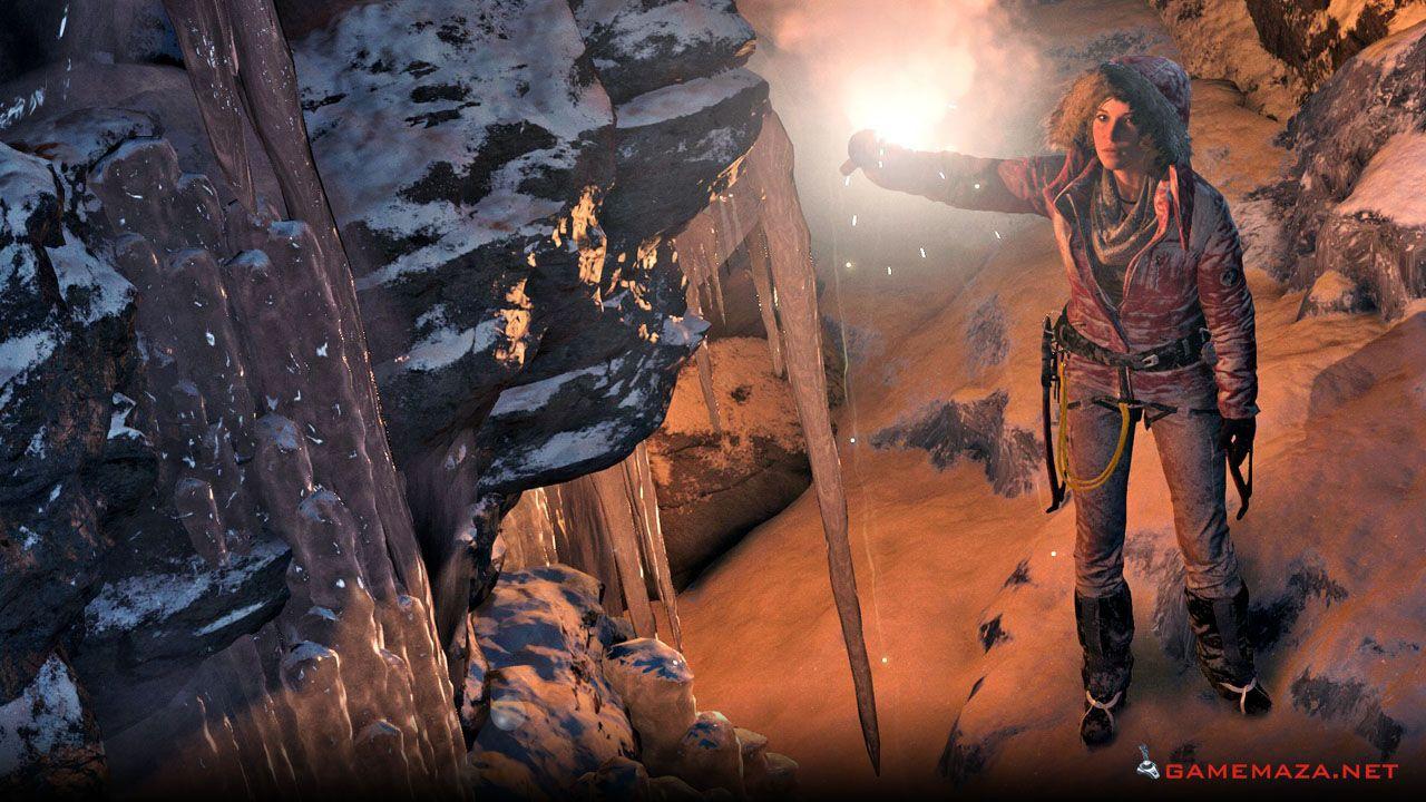 Rise Of The Tomb Raider Gameplay Screenshot 2 Tomb Raider