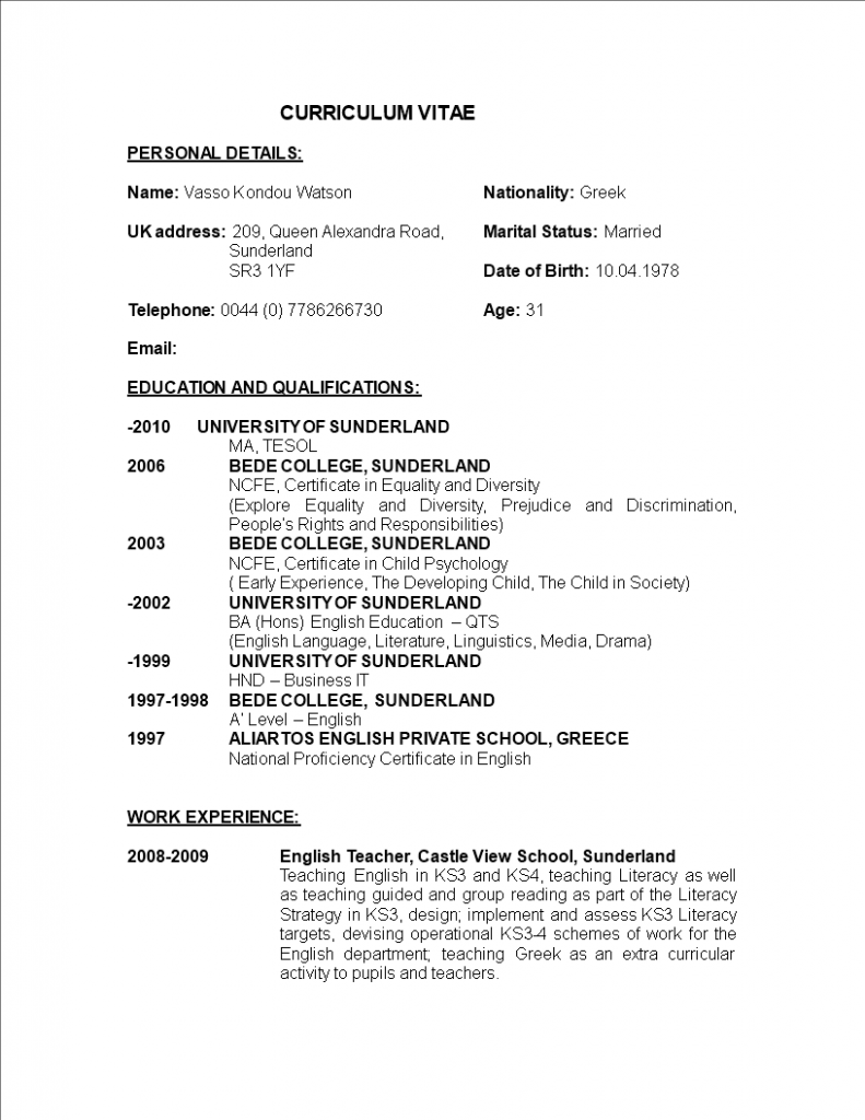 15 Faculty Instructor Job Utility Resume in 2020 Jobs