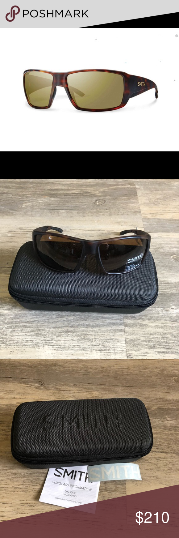 194223f220 🆕Smith Guide s Choice Matte Havana 96V Sunglasses 🆕Smith Guide s Choice  Matte Havana 96V Sunglasses ChromaPop Polarized Frame is a matte tortoise  brown ...