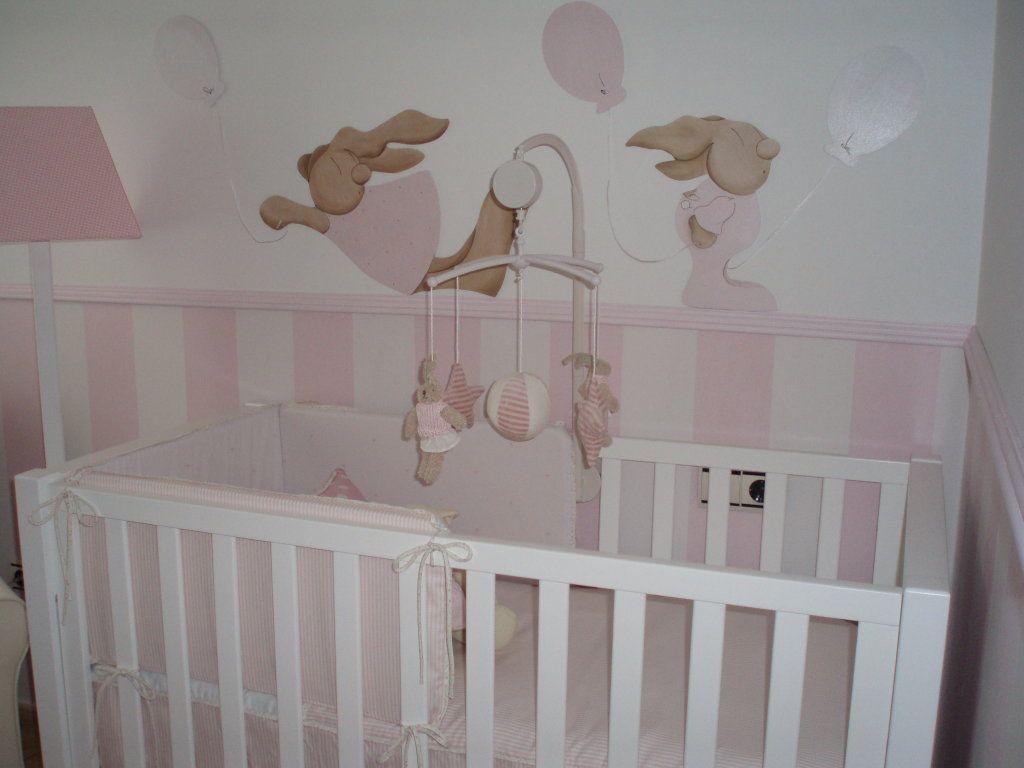 Ayuda decorar habitacion del bebe con gotele - Pintura habitacion bebe nina ...
