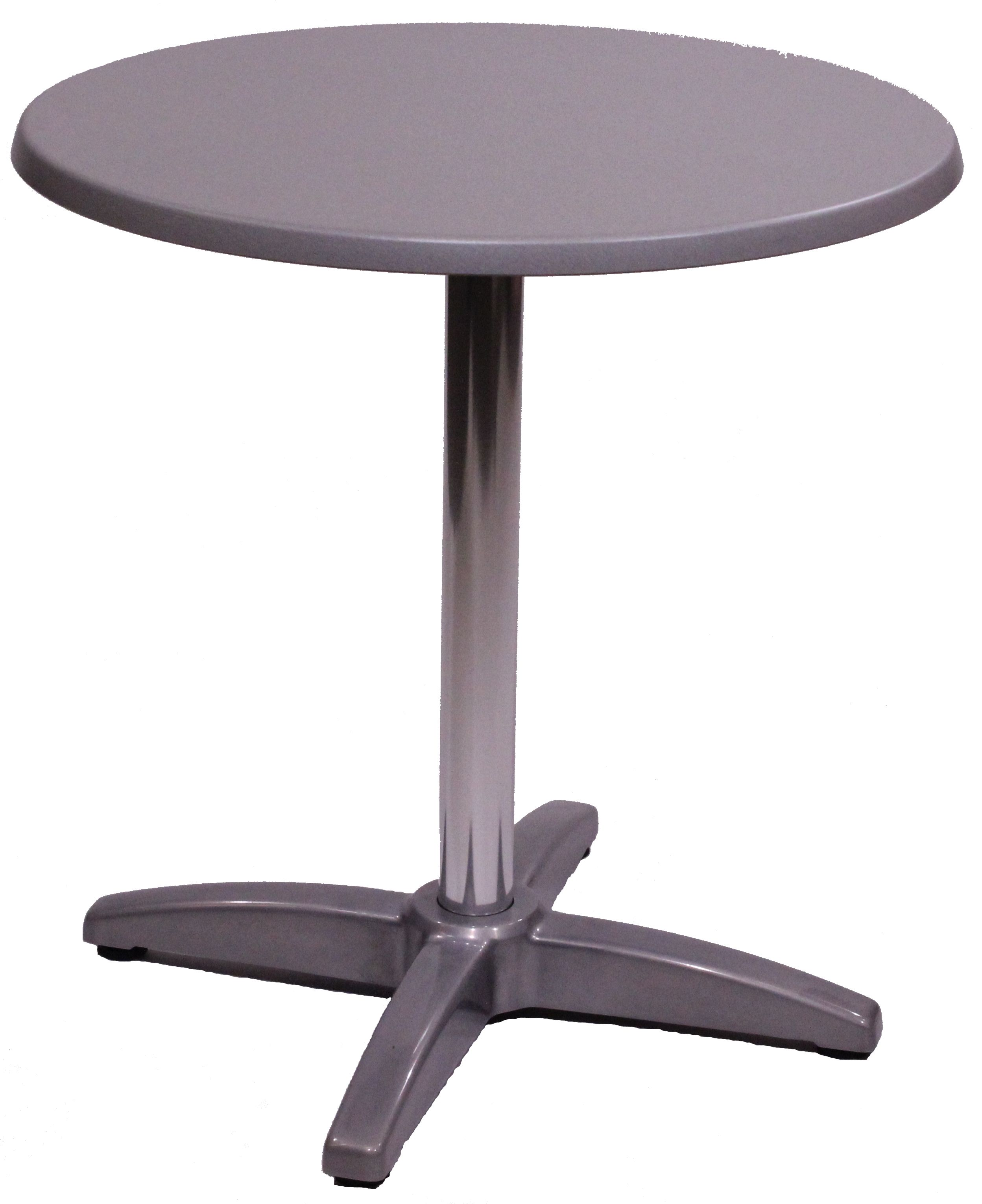 Table Exterieur De Restaurant Gueridon Solea D70 Plateau Stratifie Moule Usage Interieur Exterieur