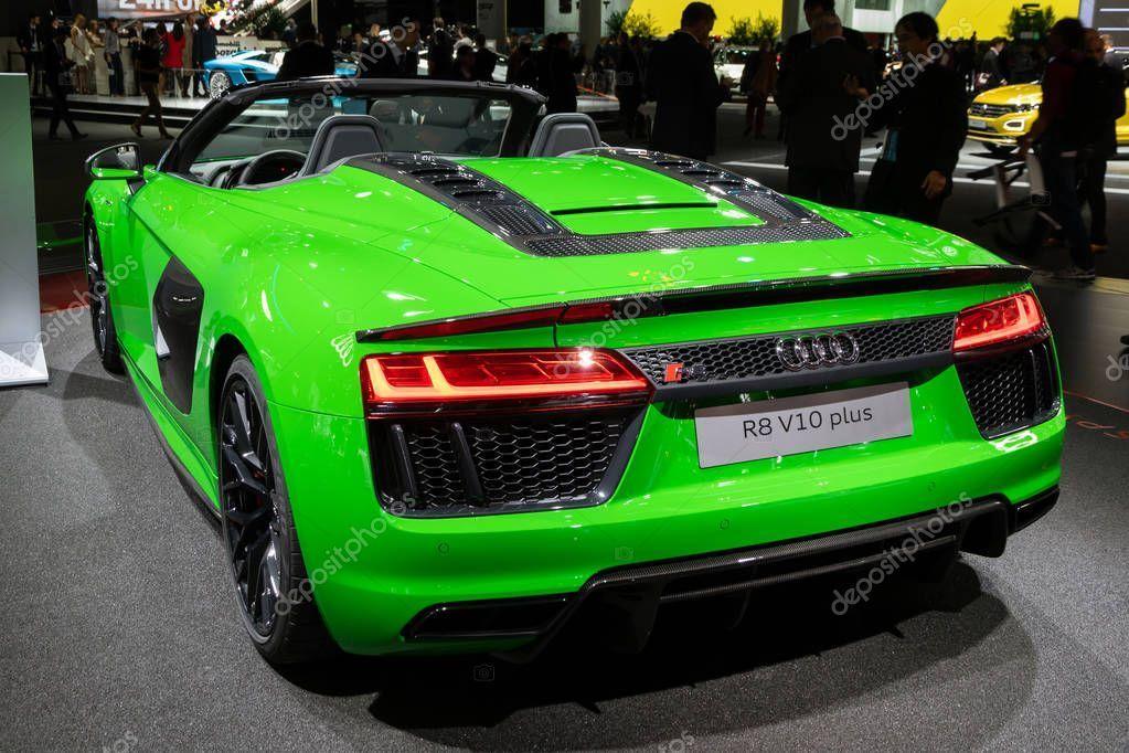 Audi R8 V10 plus sports car - Stock Photo , Audi R8 V10 plus sports car - Stock Photo ,