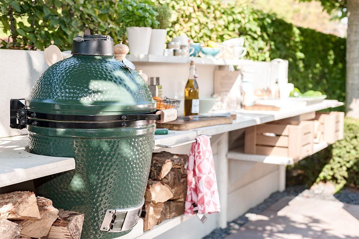 Outdoor Küche Selber Bauen : Terrassen küche selber bauen: kühles