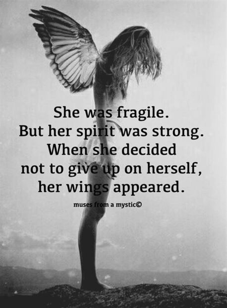 Photo of She was fragile. But her spirit was strong. When she decided not to give up on h…