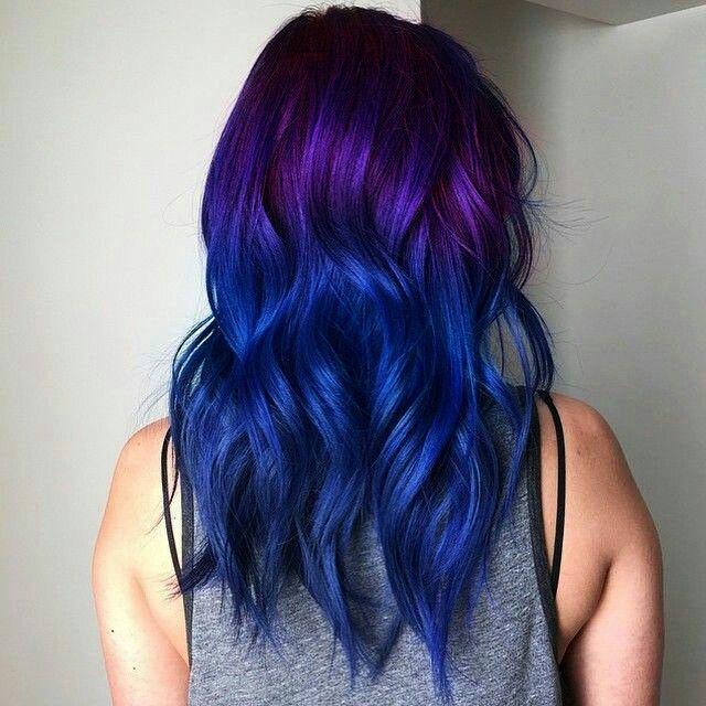 Love The Colors Cc Blue Ombre Hair Semi Permanent Hair Dye