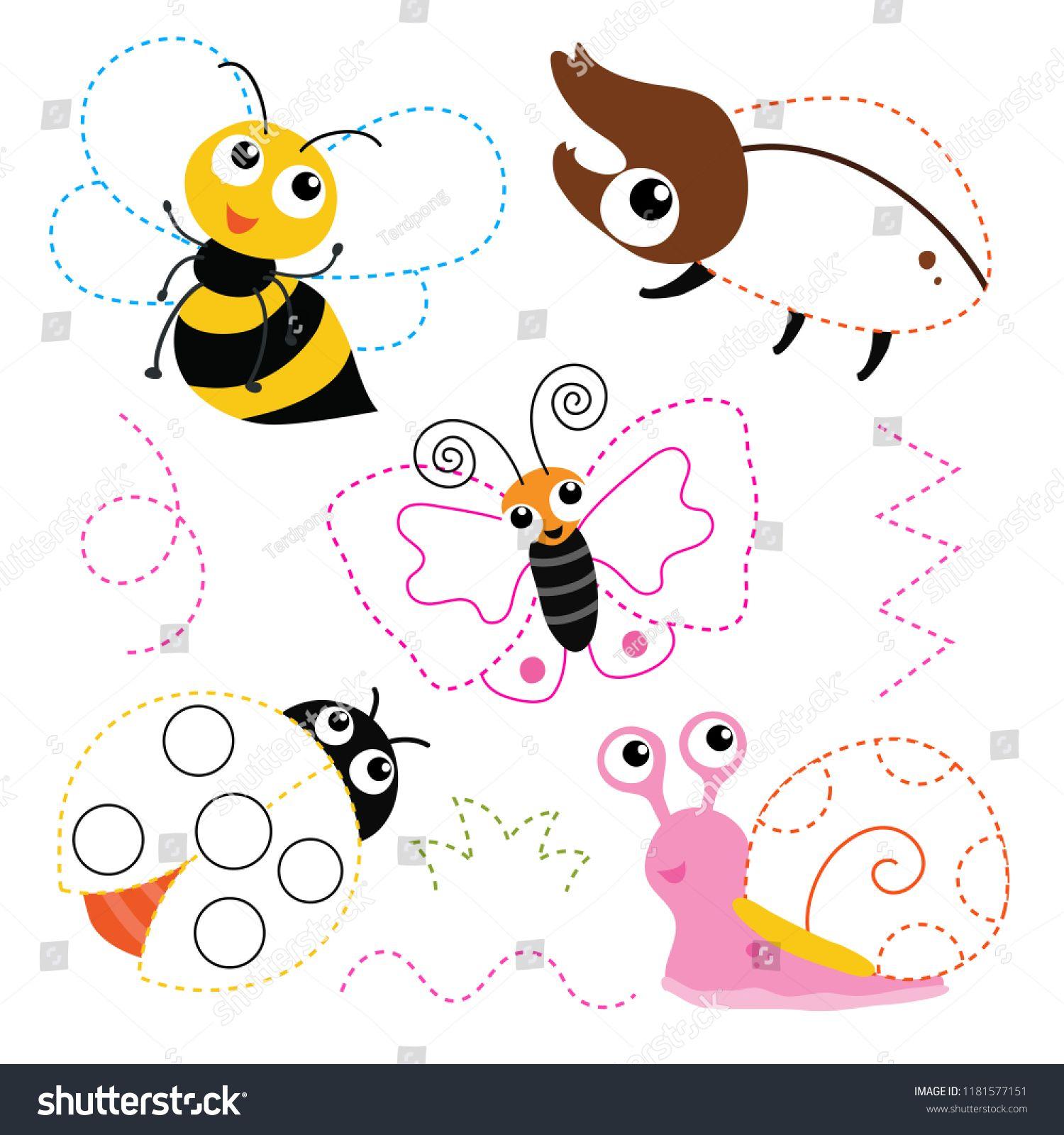 Worksheet Vector Design For Kid Artwork Vector Design For