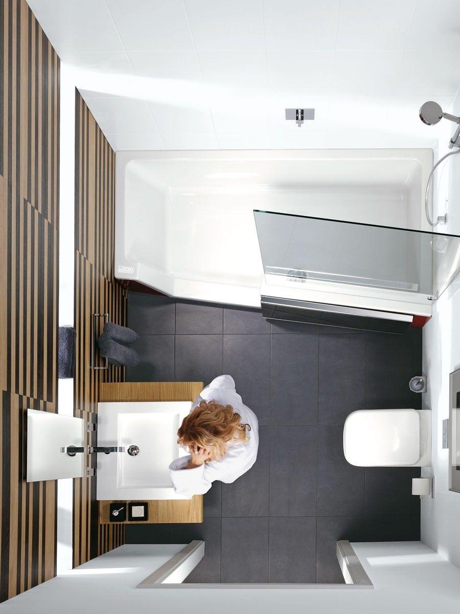 Drei stile platz f r badespa auf kleinstem raum b der pinterest ba os und ba os peque os for Dusche wc auf kleinstem raum