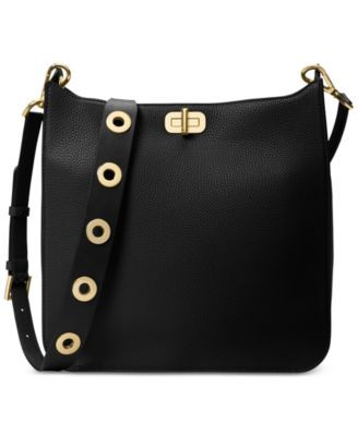33176e3d8 MICHAEL KORS MICHAEL Michael Kors Sullivan Large North South Messenger. # michaelkors #bags #shoulder bags #leather #polyester #lining #