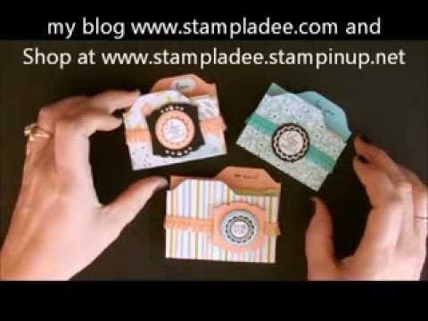 Envelope Punch Board Post It Note Holder with Deb Valder