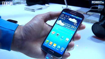 Video: Samsung Galaxy S4 vorgestellt