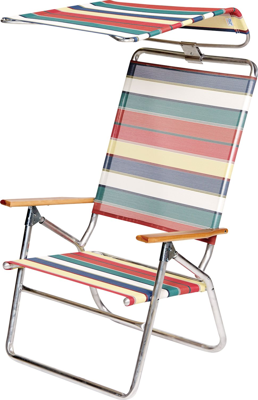 Beach Chair Canopy Beach chair with canopy, Chair pads