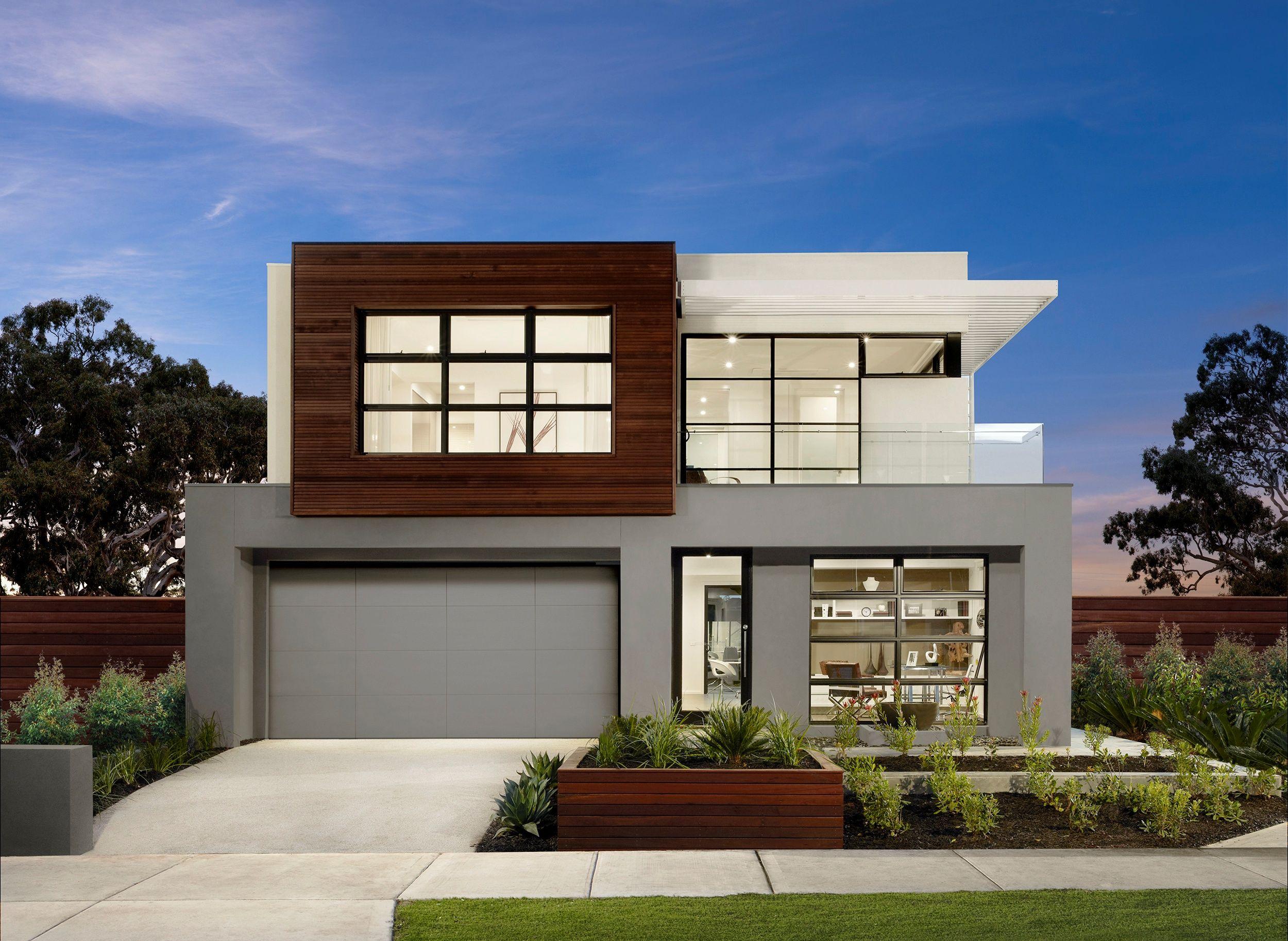 K1 alpha facade two storey house plans facade house house exteriors dream
