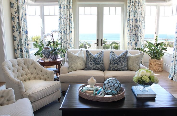 coastal inspired living rooms Coastal inspired living room