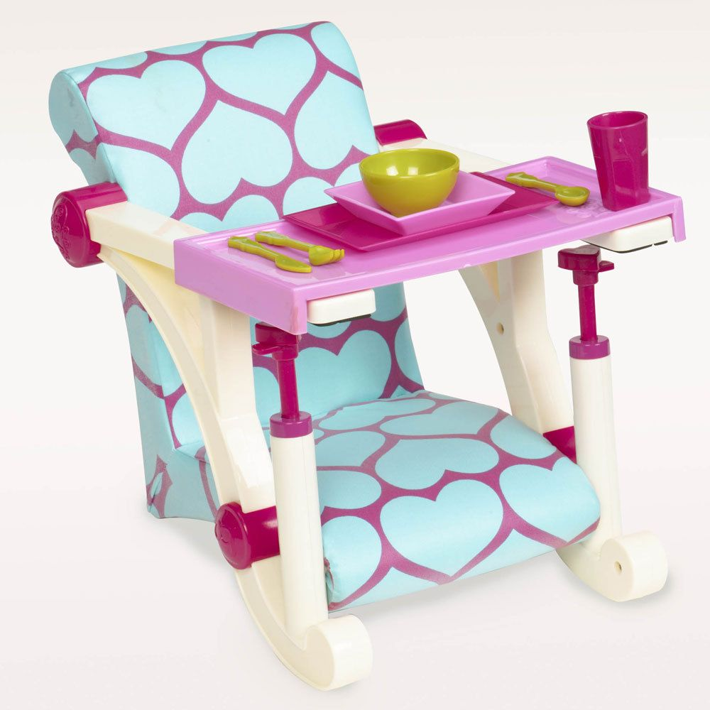 Our Generation Letu0027s Hang Clip On Chair. Ready For Lunch? With This Our  Generation High Chair Accessory Set, Your Our Generation Doll Can Join You  At The ...