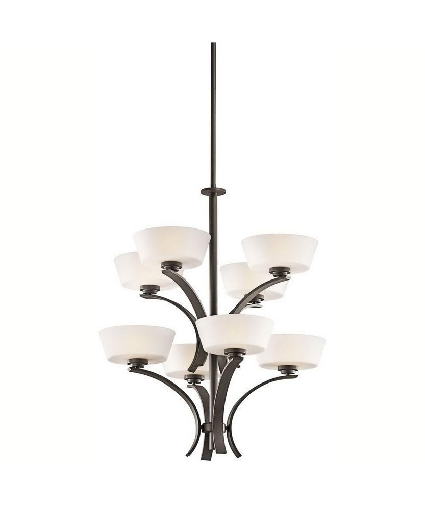 Aztec 34979 By Kichler Lighting Rise Collection Eight Light Hanging Chandelier In Olde Bronze Finish Chandelier Bronze Chandelier Lighting