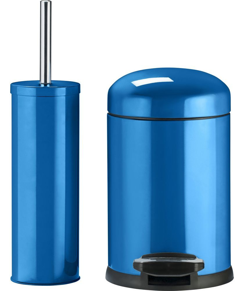 Buy Colourmatch Slow Closing Bin Brush Set Marina Blue At Argos Co Uk Your Online Shop For Bathroom Sets And Fittings Bathroom Sets