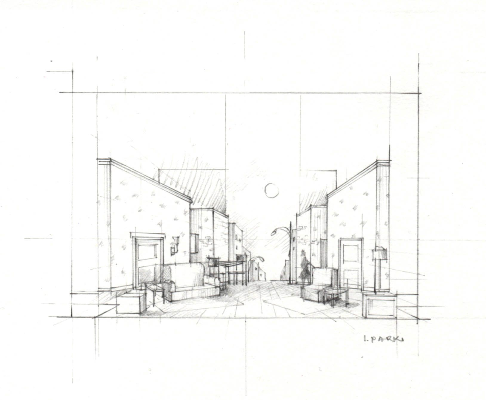 Sketch Lost In Yonkers The Winnipesaukee Playhouse