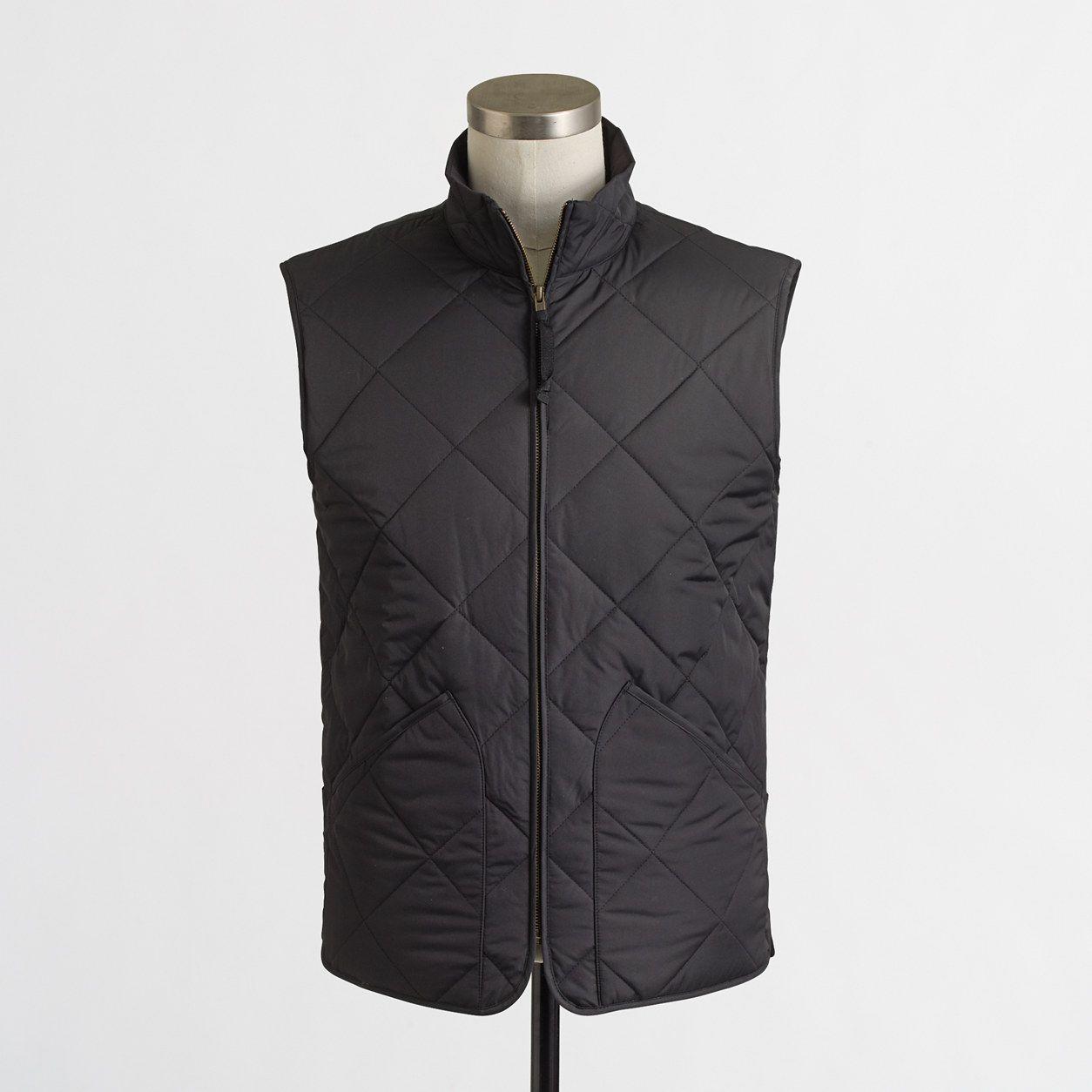 Walker Vest : Men's Jackets & Outerwear | J.Crew Factory | Basics ...