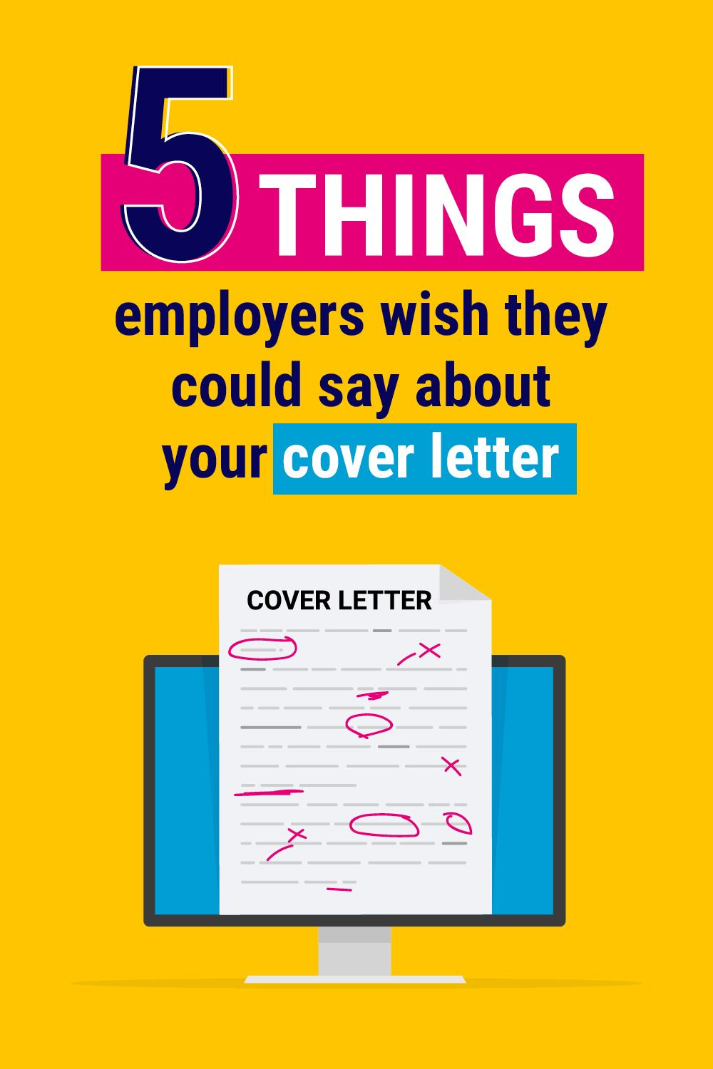 Employers wish they could say this. Cover letter for