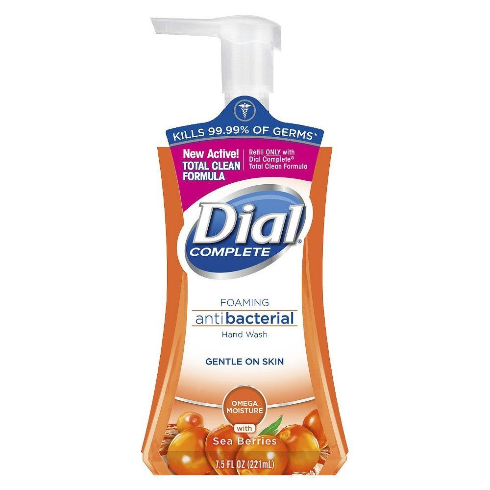 Dial Omega Moisture Complete Foaming Hand Wash 7 5oz Products