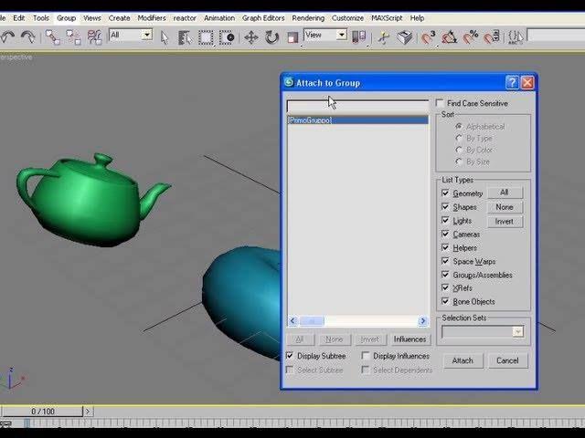 Raggruppamenti di oggetti con i Groups in 3D Studio MAX; videotutorial (con sottotitoli) - #3DStudioMax #3Ds #Attach #Attach #Detach #Group #GruppiDiOggetti #Redbaron85 #Tutorial #Ungroup #Videotutorial http://wp.me/p7r4xK-eQ