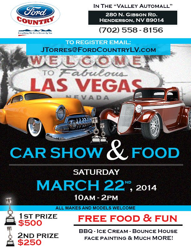 Ford Country Car Show BBQ In The Valley AutoMall Henderson NV - Car show henderson nv