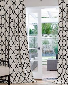 Geometric Custom Drapes Geometric Curtains Custom Drapes Home