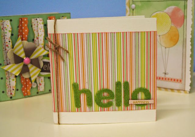 Hello Happiness - Card <3  #card-making