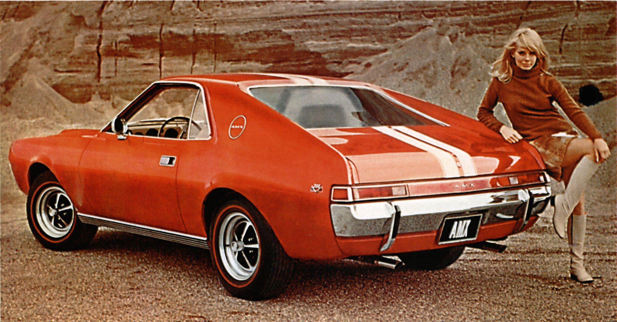 Amc Amx 1968 American Motors Vintage Sports Cars Cool Cars