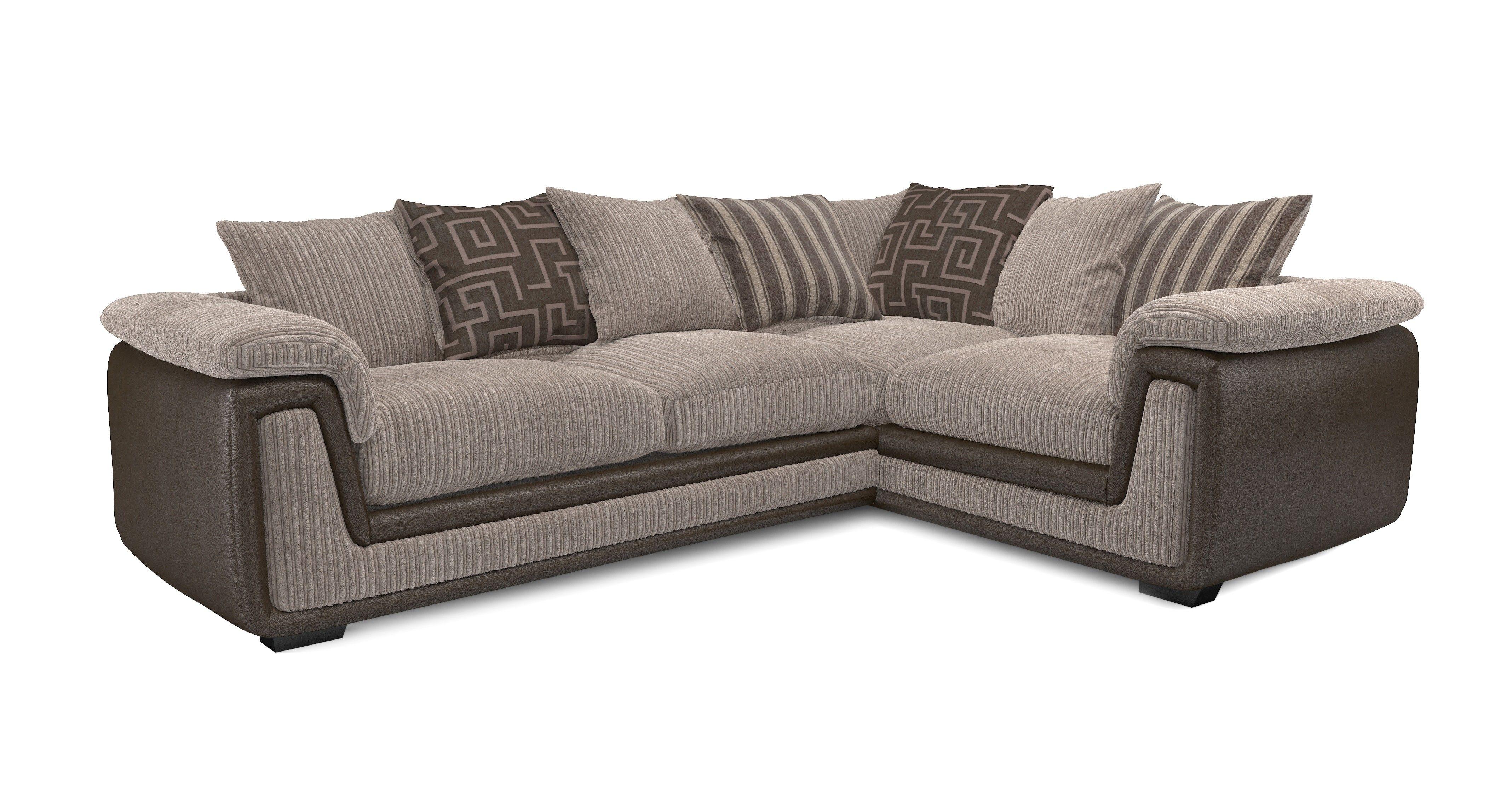 Samson Left Hand Facing 2 Seater Corner Sofa DFS