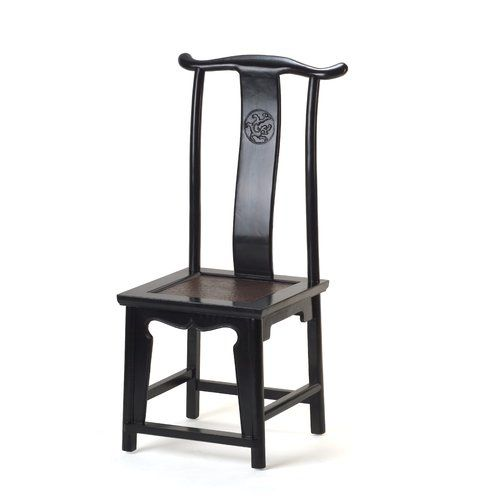 Hangzhou Solid Elm Dining Chair Ethnic Elements Colour Black Lacquer Products In 2019 Chinese Furniture Solid Wood Dining Chairs Chair
