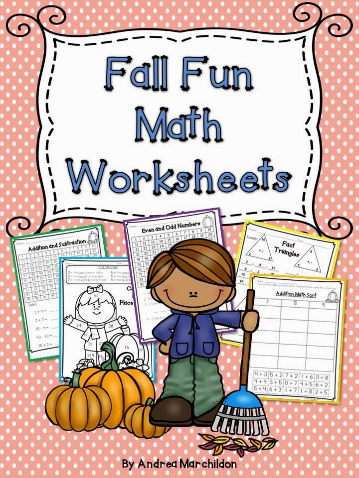 These Fall Math Worksheets Are Great For 1st Grade Morning Work