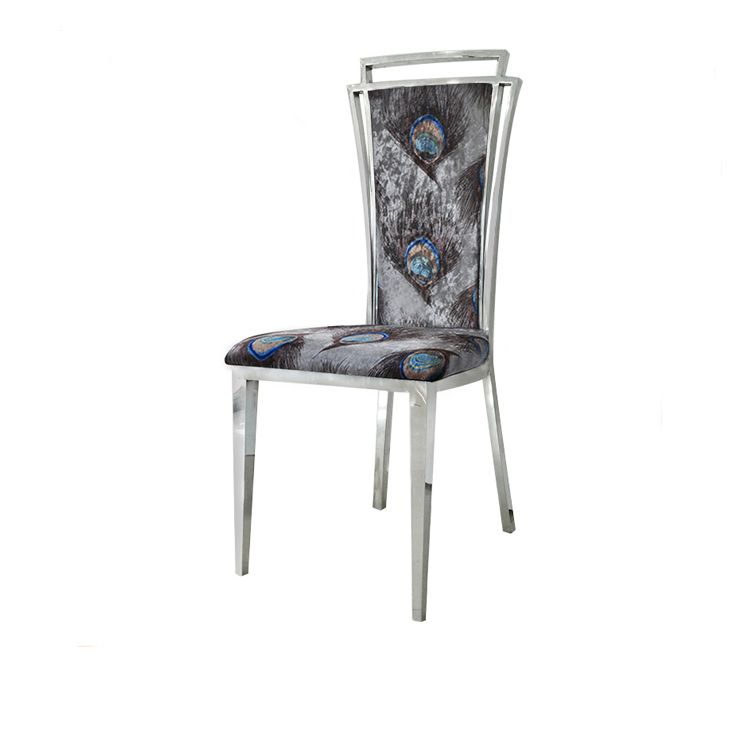 Hot Item Stainless Steel Chair Modern Chair Metal Dining Chair
